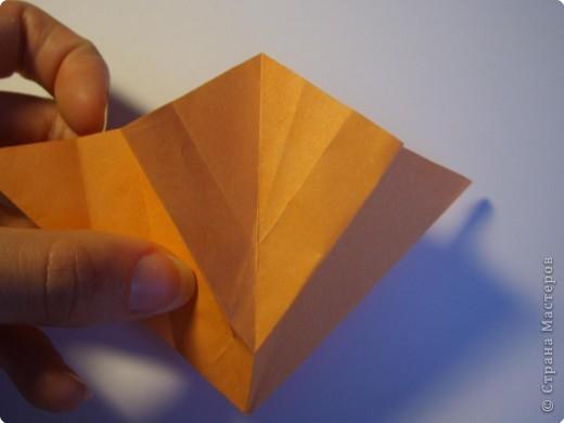 Мастер-класс Оригами МК Цветы Бумага фото 60