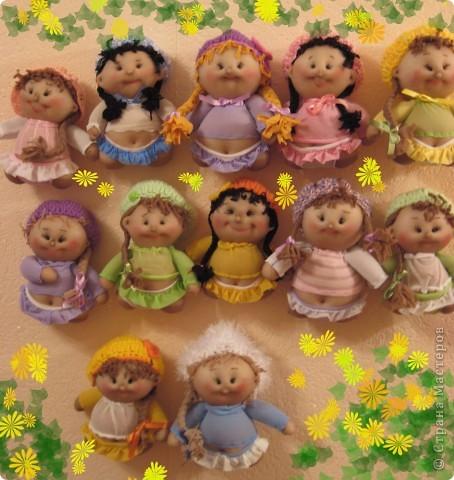 Куклы Мастер-класс Шитьё Радужные пупсы Капрон Сутаж тесьма шнур фото 1