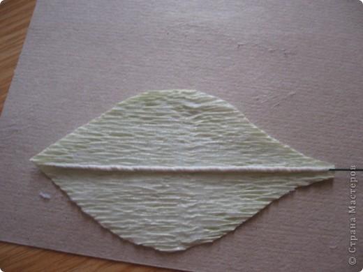 Мастер-класс Свит-дизайн День учителя Моделирование конструирование Сладкий букет Белые лилии + МК Бумага гофрированная фото 7