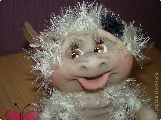 Куклы Новый год Шитьё Дракончики  Мастер класс 2 часть Капрон фото 11