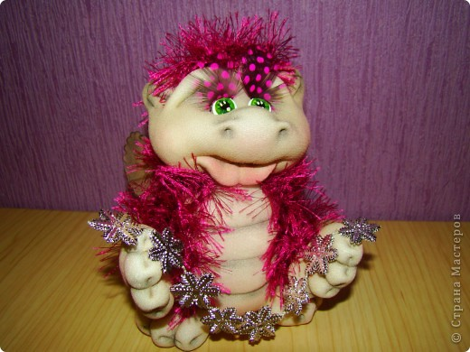 Куклы Новый год Шитьё Скоро Новый год  Капрон фото 3