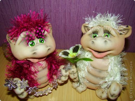 Куклы Новый год Шитьё Скоро Новый год  Капрон фото 1