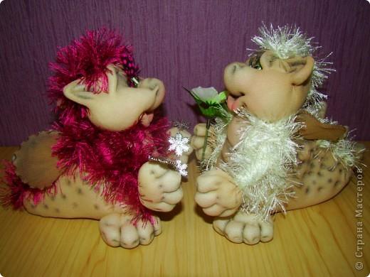 Куклы Новый год Шитьё Скоро Новый год  Капрон фото 4