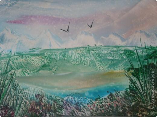 Картина панно рисунок Энкаустика Энкаустика Картон фото 1