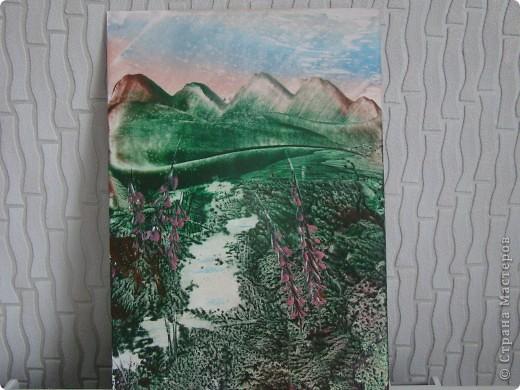 Картина панно рисунок Энкаустика Энкаустика Картон фото 4