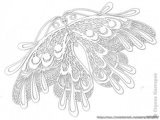 Украшение Вырезание Бабочки Бумага фото 5