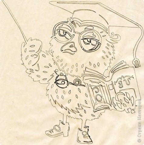Картина панно рисунок Начало учебного года Вырезание Дети в школу собирайтесь Бумага фото 12