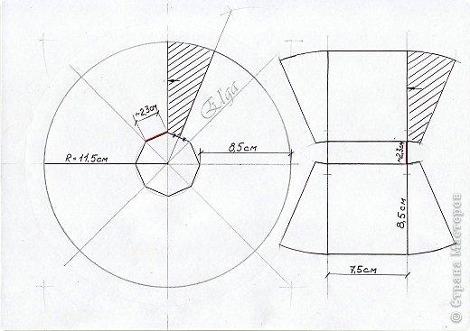 Мастер-класс Моделирование конструирование Чайное колесо Картон Клей Салфетки фото 5