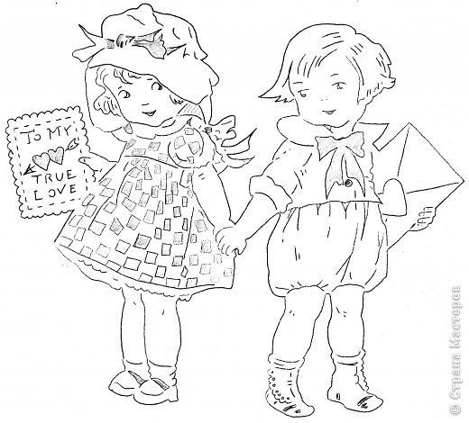 Картина панно рисунок Валентинов день Вырезание Валентинка Бумага фото 25