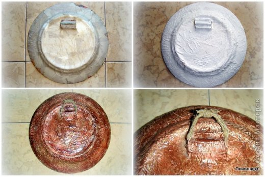 Декор предметов Декупаж Цветочные тарелки Клей Краска Салфетки Скорлупа яичная фото 8