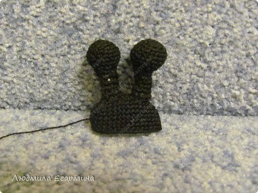 Мастер-класс Вязание крючком Люблю Божьих коровок магнит на холодильник Вата Магниты Нитки фото 12