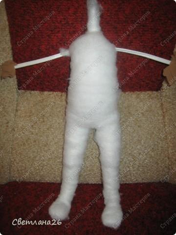 Мастер-класс Шитьё Кукла для детской + мастер-класс каркас для куклы  фото 16