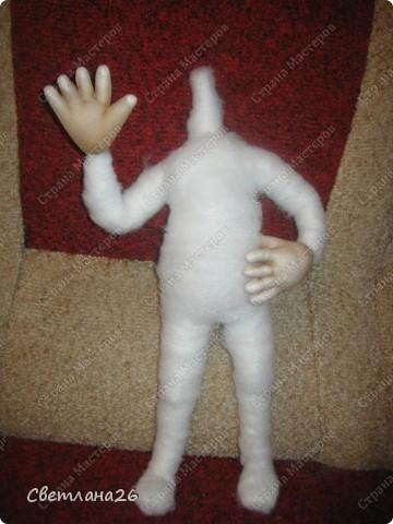 Мастер-класс Шитьё Кукла для детской + мастер-класс каркас для куклы  фото 17