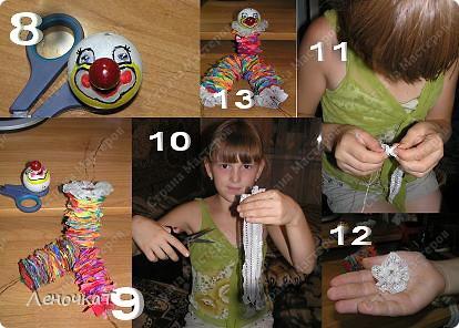 Игрушка Мастер-класс Шитьё МК Клоуна Клёпы Материал бросовый фото 5