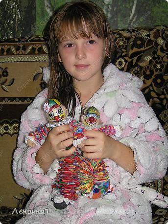 Игрушка Мастер-класс Шитьё МК Клоуна Клёпы Материал бросовый фото 1
