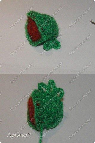 Мастер-класс Поделка изделие Вязание крючком Лягушонок Пряжа фото 8