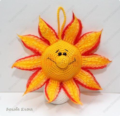 Мастер-класс Вязание крючком Солнышко Пряжа фото 1
