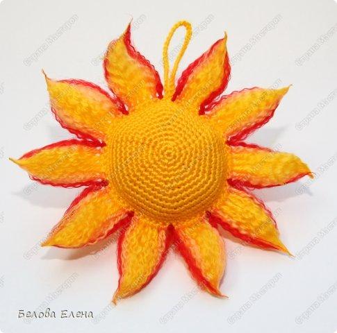 Мастер-класс Вязание крючком Солнышко Пряжа фото 2