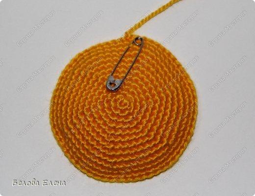 Мастер-класс Вязание крючком Солнышко Пряжа фото 8