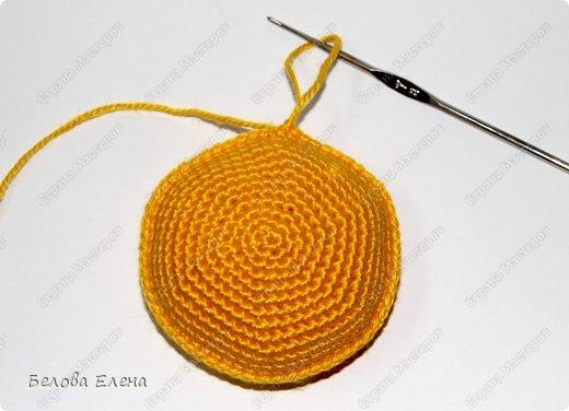 Мастер-класс Вязание крючком Солнышко Пряжа фото 12