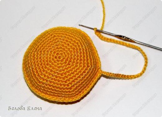 Мастер-класс Вязание крючком Солнышко Пряжа фото 13