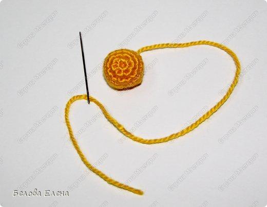 Мастер-класс Вязание крючком Солнышко Пряжа фото 16