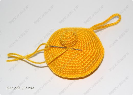 Мастер-класс Вязание крючком Солнышко Пряжа фото 17