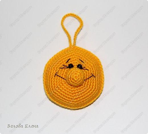 Мастер-класс Вязание крючком Солнышко Пряжа фото 19