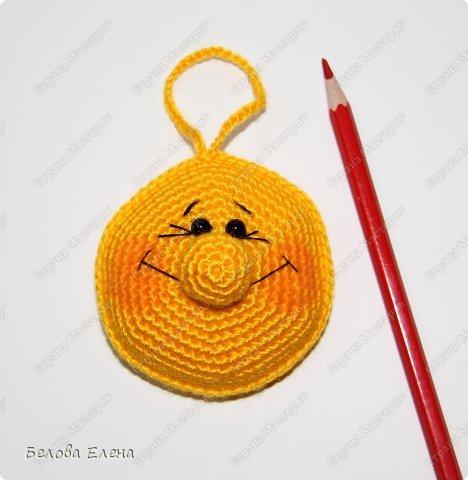 Мастер-класс Вязание крючком Солнышко Пряжа фото 20