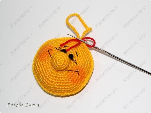 Мастер-класс Вязание крючком Солнышко Пряжа фото 22