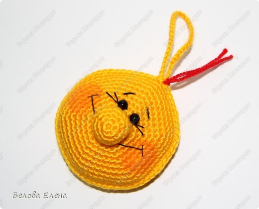 Мастер-класс Вязание крючком Солнышко Пряжа фото 23