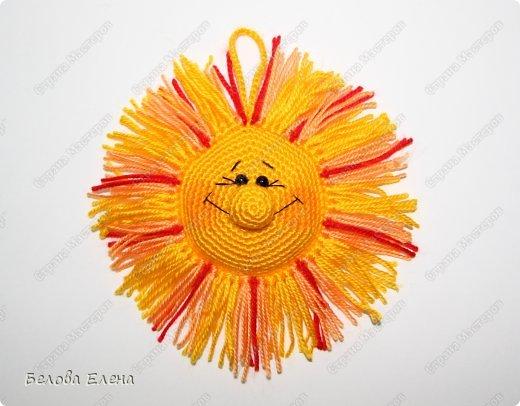 Мастер-класс Вязание крючком Солнышко Пряжа фото 25