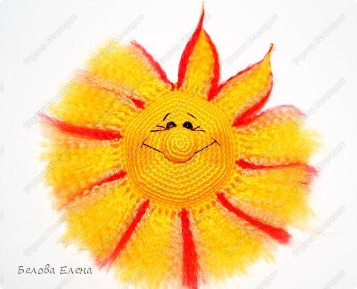 Мастер-класс Вязание крючком Солнышко Пряжа фото 27