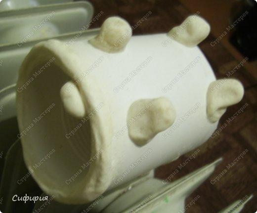 Мастер-класс Поделка изделие Лепка Моделирование конструирование Мартовский кот Гипс Клей Краска Материал бросовый Тесто соленое фото 15