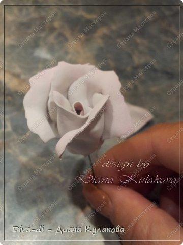 Мастер-класс Поделка изделие 8 марта Свадьба Моделирование конструирование Роза чайная из фоамирана - Часть 3 Фоамиран фом фото 13