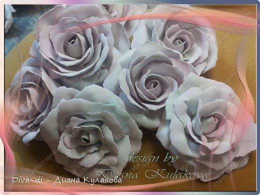 Мастер-класс Поделка изделие 8 марта Свадьба Моделирование конструирование Роза чайная из фоамирана - Часть 3 Фоамиран фом фото 1