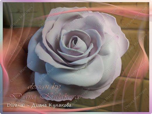 Мастер-класс Поделка изделие 8 марта Свадьба Моделирование конструирование Роза чайная из фоамирана - Часть 3 Фоамиран фом фото 2
