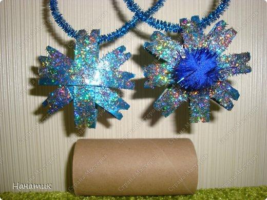 <br /> -картонные трубочки<br /> -блеск сыпучий<br /> -супер клей<br /> -клей пва жидкий<br /> -помпон<br /> -лак для волос<br /> -проволока синельная<br />  фото 1