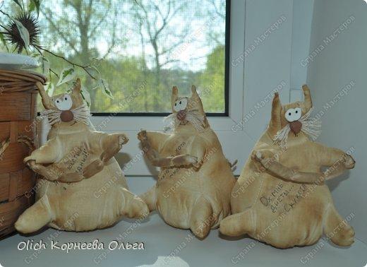 Игрушка Шитьё Толстые кофейные коты Выкройка Клей Кофе Пряжа Пуговицы Ткань Фарфор холодный Шпагат фото 7