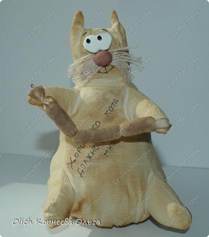 Игрушка Шитьё Толстые кофейные коты Выкройка Клей Кофе Пряжа Пуговицы Ткань Фарфор холодный Шпагат фото 5