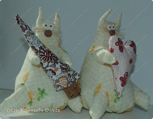 Игрушка Шитьё Толстые кофейные коты Выкройка Клей Кофе Пряжа Пуговицы Ткань Фарфор холодный Шпагат фото 8