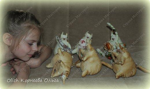 Игрушка Шитьё Толстые кофейные коты Выкройка Клей Кофе Пряжа Пуговицы Ткань Фарфор холодный Шпагат фото 15