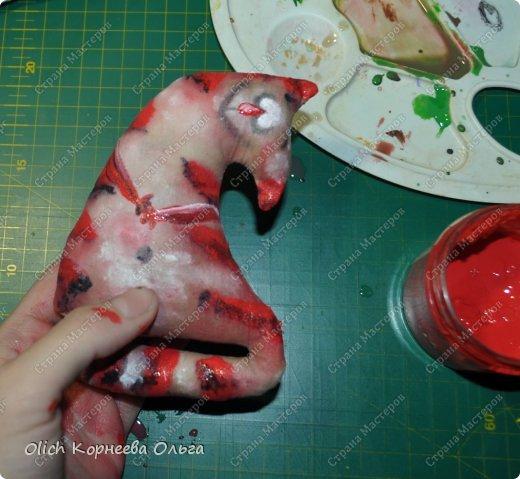 Игрушка Мастер-класс Рисование и живопись Шитьё Разукрашиваем текстильного кота Краска Ткань фото 40