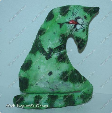 Игрушка Мастер-класс Рисование и живопись Шитьё Разукрашиваем текстильного кота Краска Ткань фото 6