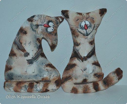 Игрушка Мастер-класс Рисование и живопись Шитьё Разукрашиваем текстильного кота Краска Ткань фото 13