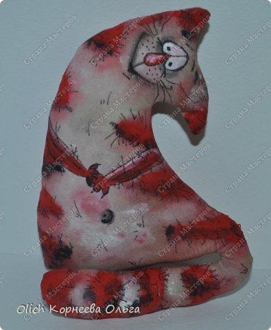 Игрушка Мастер-класс Рисование и живопись Шитьё Разукрашиваем текстильного кота Краска Ткань фото 18