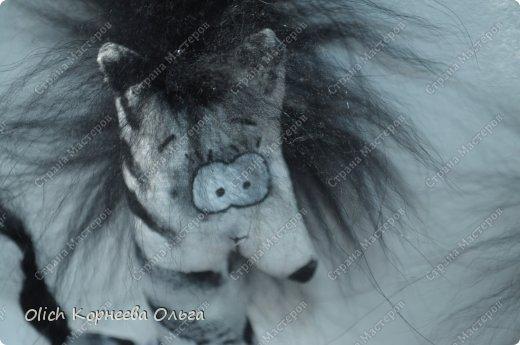 Игрушка Мастер-класс Рисование и живопись Шитьё Crazy зебры и другие примитивы Бисер Краска Мех Проволока Пряжа Ткань фото 3