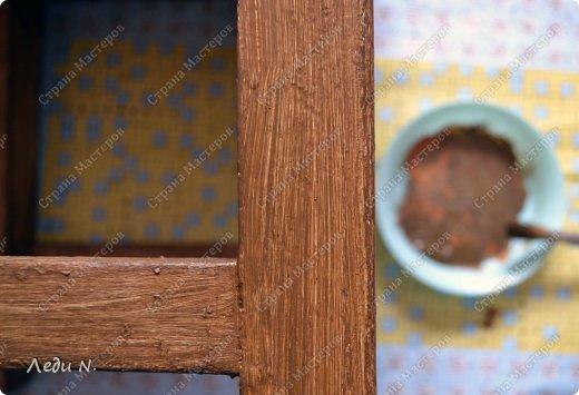 Декор предметов Мастер-класс Декупаж Табурет - из старого в  старинный Краска Салфетки фото 8
