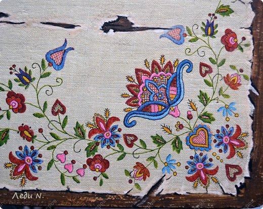 Декор предметов Мастер-класс Декупаж Табурет - из старого в  старинный Краска Салфетки фото 12