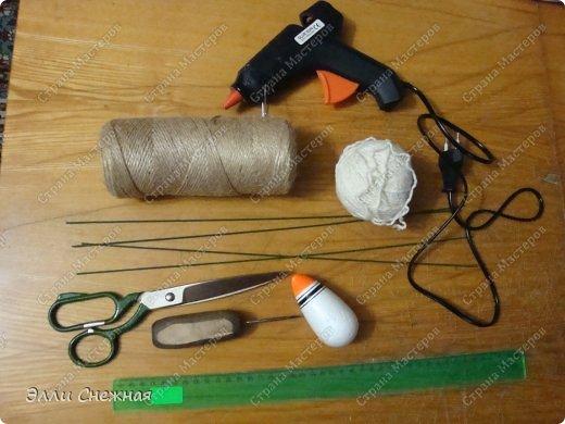 Игрушка Мастер-класс Моделирование конструирование МК- как я делаю овечек Клей Нитки Проволока фото 2